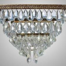 Cut Glass Chandeliers Lighting Elegant Glass Chandelier For Decorating Your Home