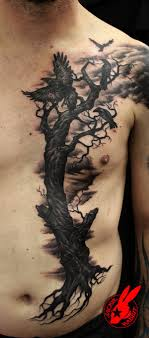 60 mysterious tattoos ravens rabbit and