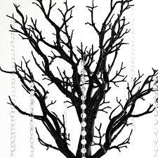 manzanita trees balsacircle 30 manzanita tree with garlands for wedding diy