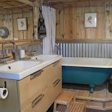 corregated tin roofing as kitchen backsplash more corrugated