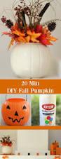 diy fall pumpkin this super easy diy fall pumpkin only takes 20