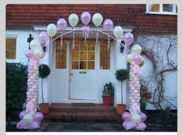 Wedding Arches Columns Balloon Columns And Arch Balloon Arch Balloon Decor Balloon