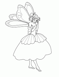 fairy coloring pages pixelpictart