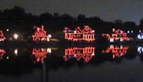 Boat House Row - light colors on boathouse row can be changed for a fee cbs philly