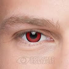 voldemort 1 coloured contact lenses red color contacts