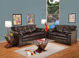 Simmons Leather Sofa 2 Pc Simmons Hayley