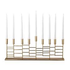 modern menorah 12 best menorahs for hannukah 2017 modern and decorative