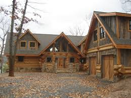 Cool Log Homes Awesome Log Cabin Exterior Siding Room Design Decor Creative In