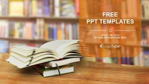 library powerpoint template free download download 20 free