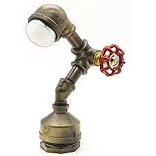 industrial table lamp amazon com