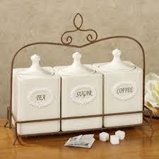 pottery canisters kitchen kitchens kitchen canister sets for trends also white ceramic