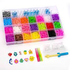 bracelet diy rubber images Btggg 4400 multi color rubber bands refills set bracelet making jpg