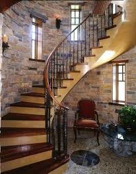 Decorating A Staircase Wall Staircase Traditional With Dark Wood Decorating Staircase Wall
