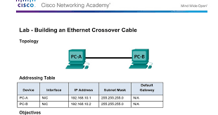 4 2 2 7 lab building an ethernet crossover cable docx google docs