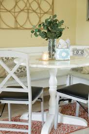 how to paint a faux marble tabletop hgtv u0027s decorating u0026 design
