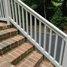 the harrington vinyl rail kit by durables decksdirect
