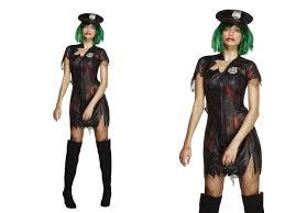 fever zombie cop costume ladies halloween fancy dress s l