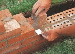 how to repair and build a brick garden wall help u0026 ideas diy