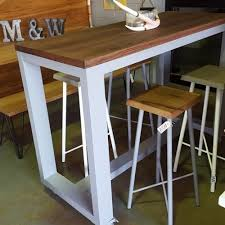 Outdoor Bar Table And Stools Things Of Metal And Wood Handmade Furniture Gallery Coast