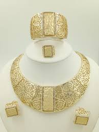 gold sets design wholesale 2015 miss folli jewelry sets charming dubai gold plated