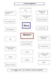 english worksheets must mustn u0027t worksheets page 29