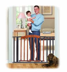 Baby Safety Gates For Stairs Amazon Com Summer Infant Decorative Wood U0026 Metal 5 Foot Pressure