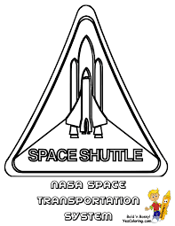 gallery of fantastic four coloring at space shuttle logo coloring