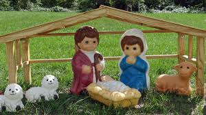 Outdoor Nativity Lighted - 18