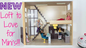 Doll House Furniture Ideas Lori By Og Loft To Love Dollhouse Youtube