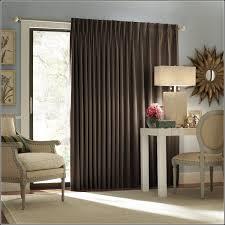 patio door double curtain rods curtains home design ideas
