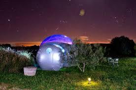 bulle chambre chambre d hôtes les chambres bulles du château belvize chambre d