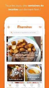 marmitons recettes cuisine marmiton recettes de cuisine on the app store