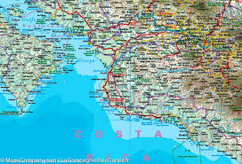 Map Costa Rica Map Of Costa Rica And Panama Reise Know How