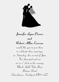 samples of wedding invitation cards wordings festival tech com