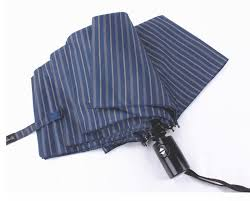 metal fallos ring holder images Brand design striped big umbrella men female windproof large jpg