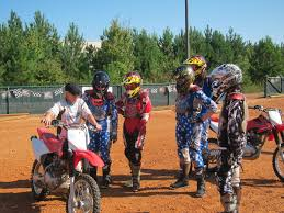 kids motocross racing learn to ride dirt bikes at the msf dirt bike in alpharetta
