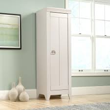 large narrow hall cupboard painted in farrow ball all white pics