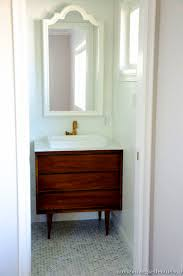 bathroom best mid century modern bathroom vanity ideas with 2