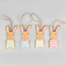 Easter Rabbit Decorations Uk by Https Www Sassandbelle Co Uk Easter Bunny Family Pastel Hanging