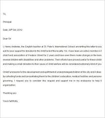 letter of support sample letter of support template best business