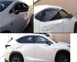 lexus nx 200t price puerto rico 2015 17 lexus nx200t nx300h smoke tinted window visor vent shade w