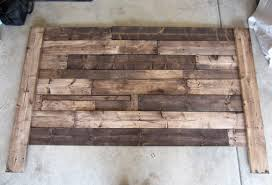 Pallet Wood Headboard Build A King Sized Pallet Headboard Diywithrick