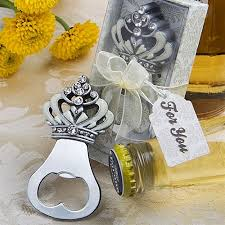 bottle opener favor royal crown bottle opener wedding favors bridal shower party
