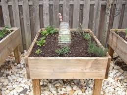 raised garden bed on legs 3 steps