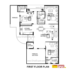 how big is 300 square feet house plan for 48 feet by 58 feet plot plot size 309 square yards