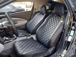 Diamond Tuck Interior Quilted Type Clazzio Leather Seat Covers