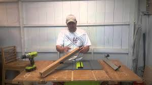 Ryobi 5 Portable Flooring Saw by Modify A Ryobi Table Saw Fence Youtube