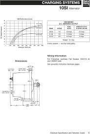 10si alternator wiring diagram gooddy org