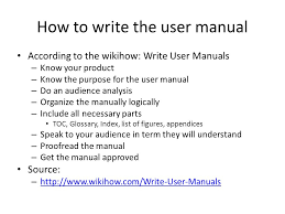 how to create a user manual 12 steps with pictures