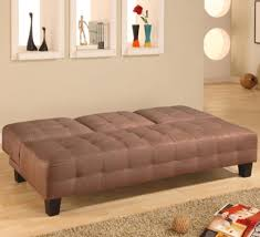 Armless Sleeper Sofa Living Room Sectional Armless Tufted Convertible Sofa